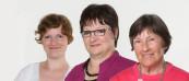 SHanna Schürmann, Gabriela Burgund-Schürmann, Edeltraud Burgund. Steuerberatung in 3. Generation