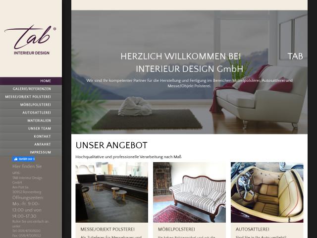 ▷ TAB Interieur Design GmbH ✅ | Tel. (0511) 473076... ☎ -