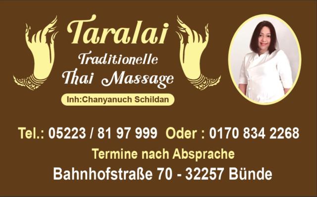 Thai massage bünde