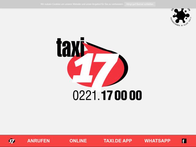 Taxi 17 Köln
