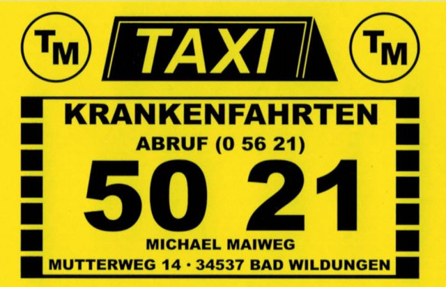 Taxi Bad Wildungen