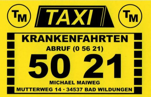 Taxi Bad Wildungen