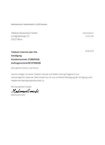 Telekom Deutschland Gmbh Tel 0228 181 Adresse