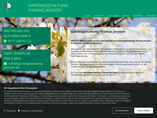 Garten Janssen janssen garten und landschaftsbau tel 02153 891