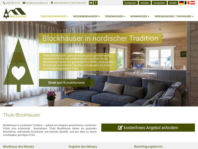 Thule Blockhaus Gmbh Tel 0800 98767