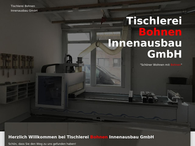 Schreiner Krefeld tischlerei bohnen innenausbau gmbh tel 02151 64515