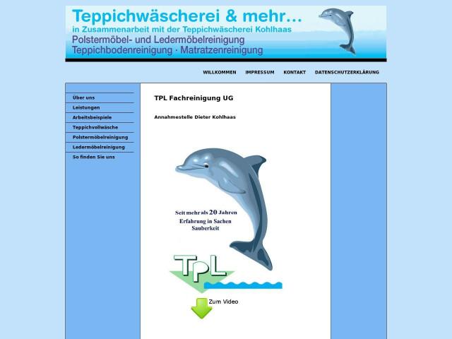 ▷ TPL Fachreinigung UG ✅   Tel. (06834) 565... ☎ - Adresse