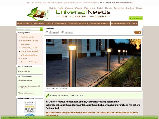Universal Needs Weihnachtsbeleuchtung.Universal Needs Ralf Werner Online Handel Rüsselsheim