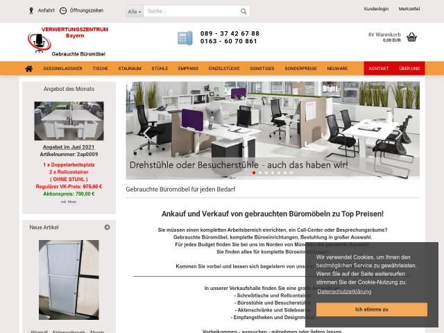 ▷ Verwertungszentrum Bayern - Gebrauchte Büromöbel München ✅ | Tel ...