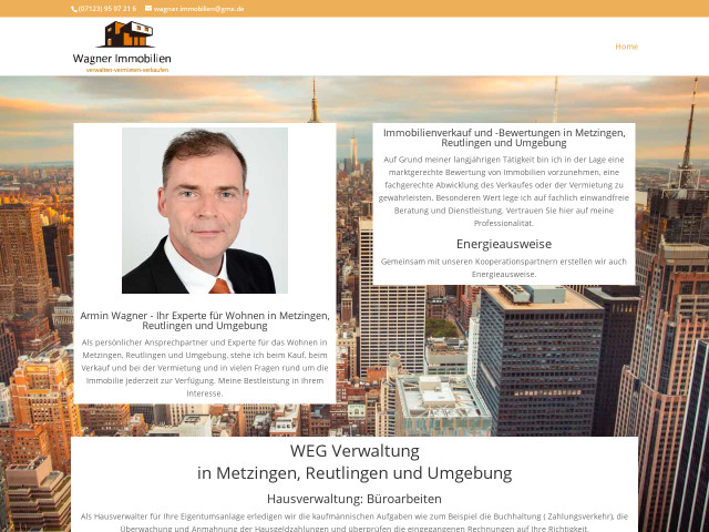 Immobilienmakler Metzingen wagner immobilien tel 07123 95972 bewertung