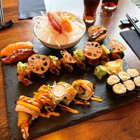 Wasabi Sushi Grill Restaurant Tel 0561 870608