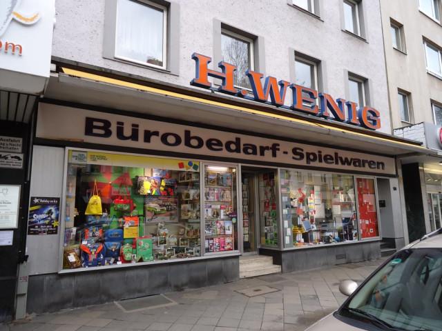 Wenig Heinrich Schreibwarenfachgeschäft Tel 0211 6231