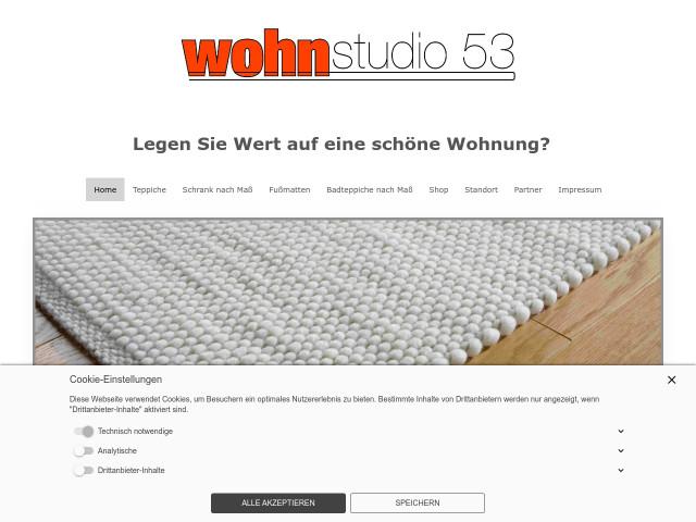 Wohnstudio 53 Manfred Längin Ek Tel 07720 99768