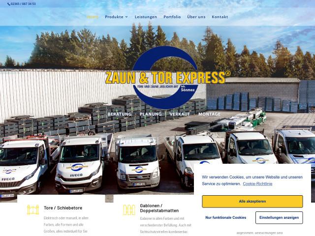 Zaun Tor Express Tel 02365 88734 Bewertung